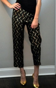 April Francis in her vintage pants