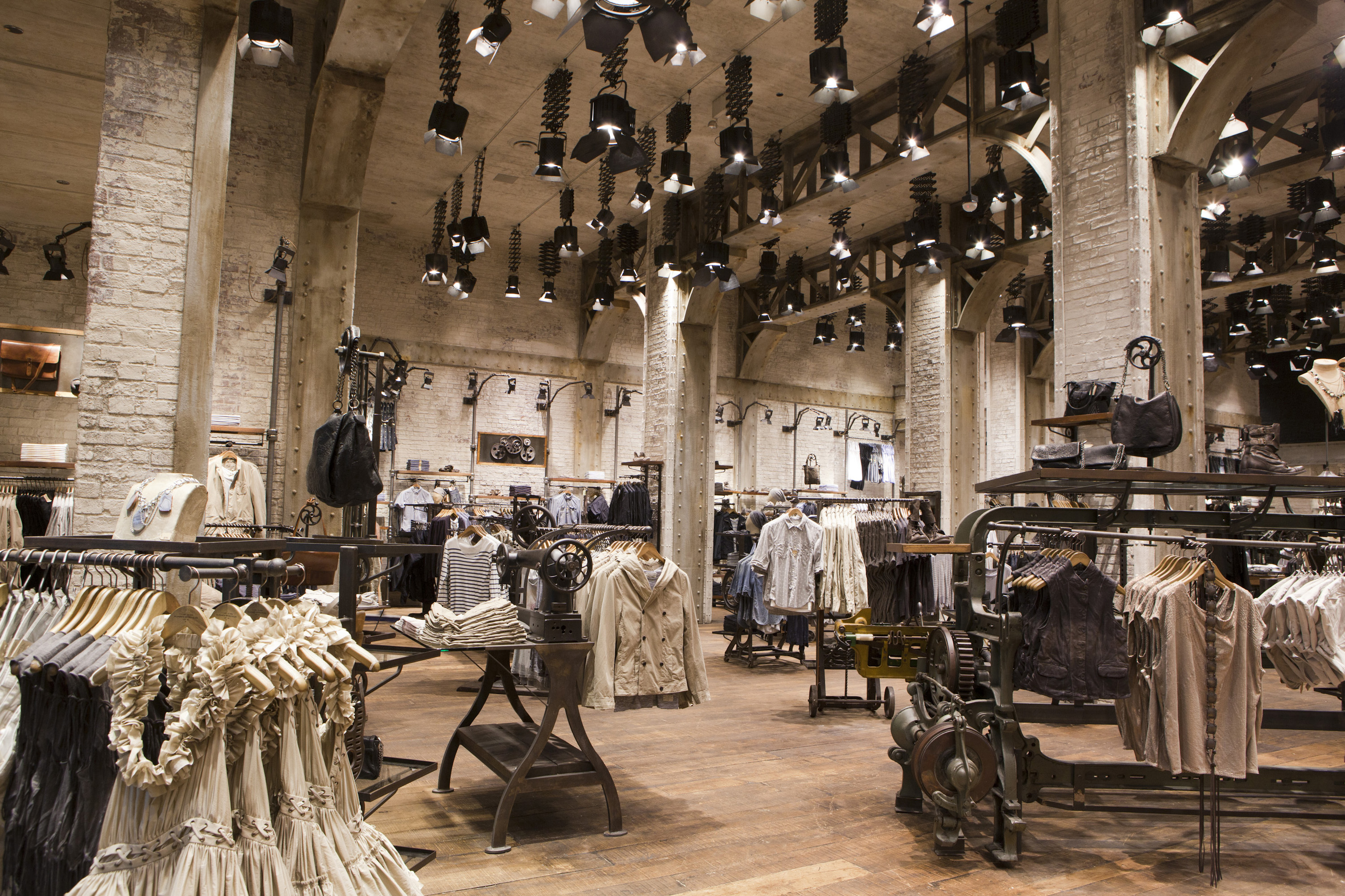 Open for business allsaints spitalfields boutiqueville